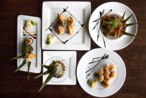 Gourmet Sushi @ Wild Orchid Gluten Free Sushi Canmore