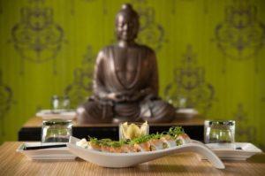 Spicy Tuna roll @ Wild Orchid Bistro