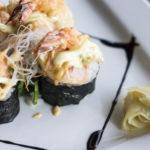 Shrimp Tempura Sushi - Wild Orchid Bistro Canmore Alberta